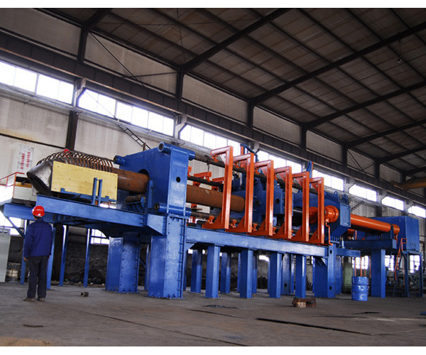 intermediate frequency extruding machine